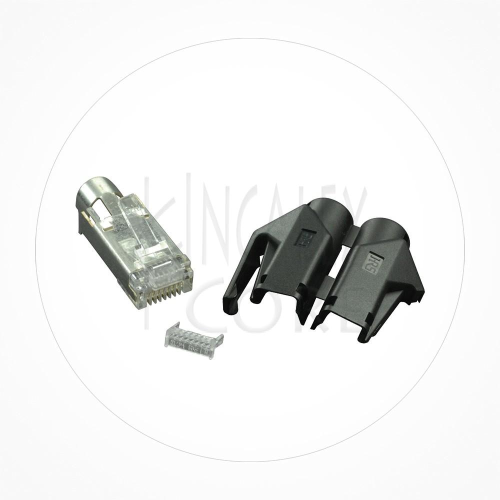 Conector Ethernet FTP Macho Rj49 Cat6 Hirose