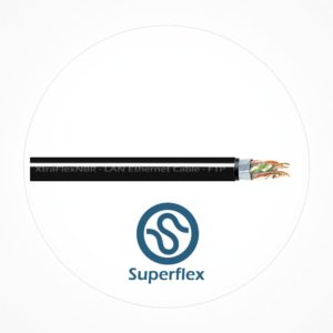 Cable FTP Ethernet Doble Cubierta XtraFlex NBR Cat6