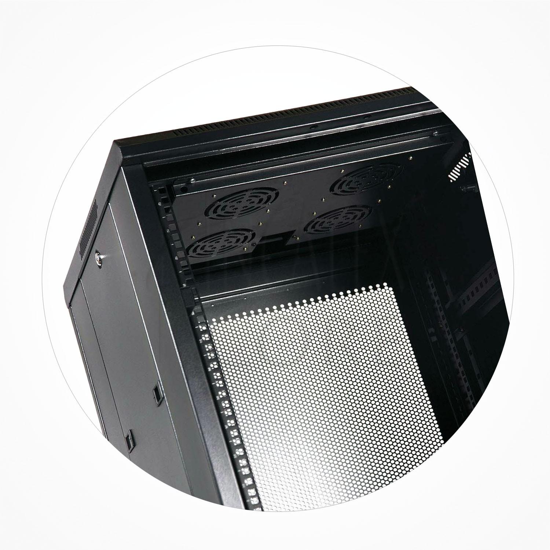 "Termostato Digital 4 Ventiladores Rack 19"" 1U"
