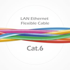 Cable FTP Ethernet Flexible Patch Cubierta LSZH Cat6
