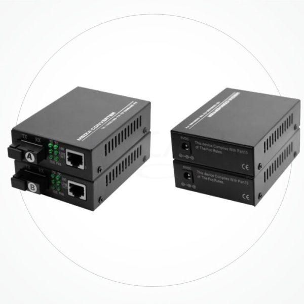 Conversor SC Monomodo WDM BIDI 10/100/1000M 60KM IXGSB60F3S