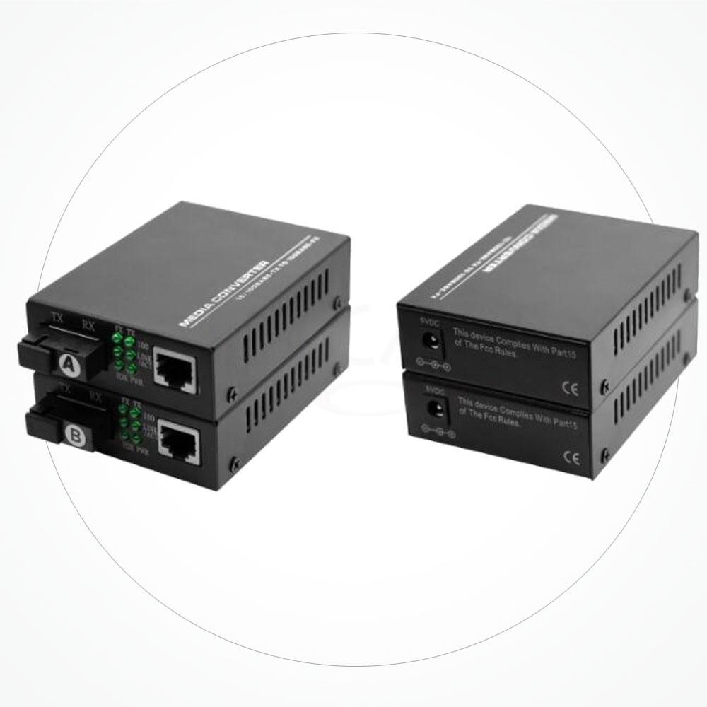 Conversor SC Monomodo WDM BIDI 10/100M 120KM IX2SB120D4S
