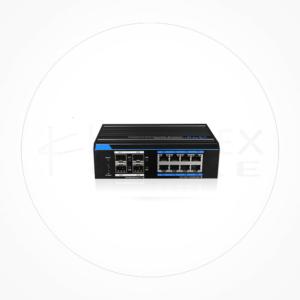 Switch Industrial PoE + 8 puertos 10/100/1000 + 4 puertos 1Gb SFP ICX7308GE