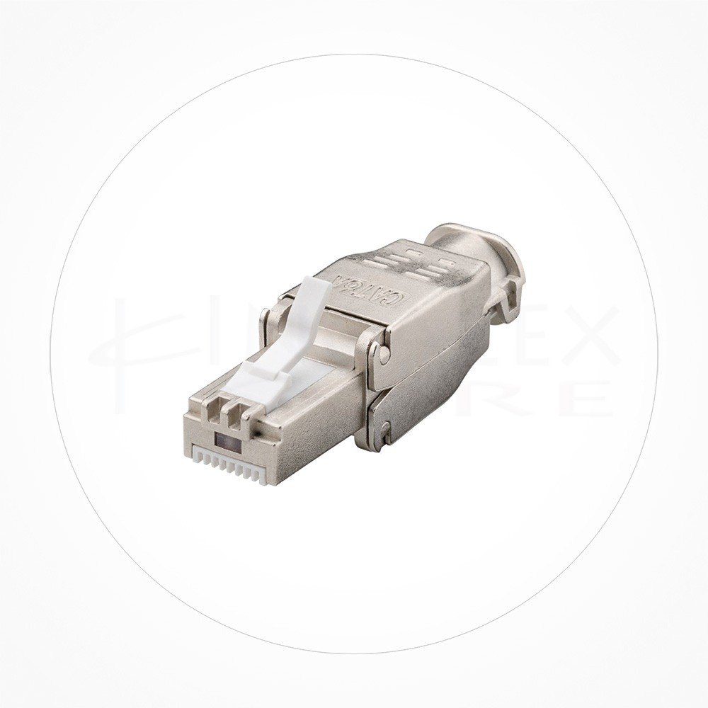 Conector Ethernet FTP Macho Rj49 Cat6/7 Industrial