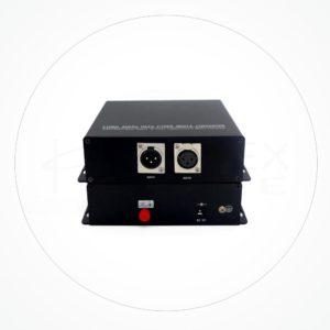 Conversor FC/SC/ST Audio Balanceado Bidireccional IX1AA-XLR