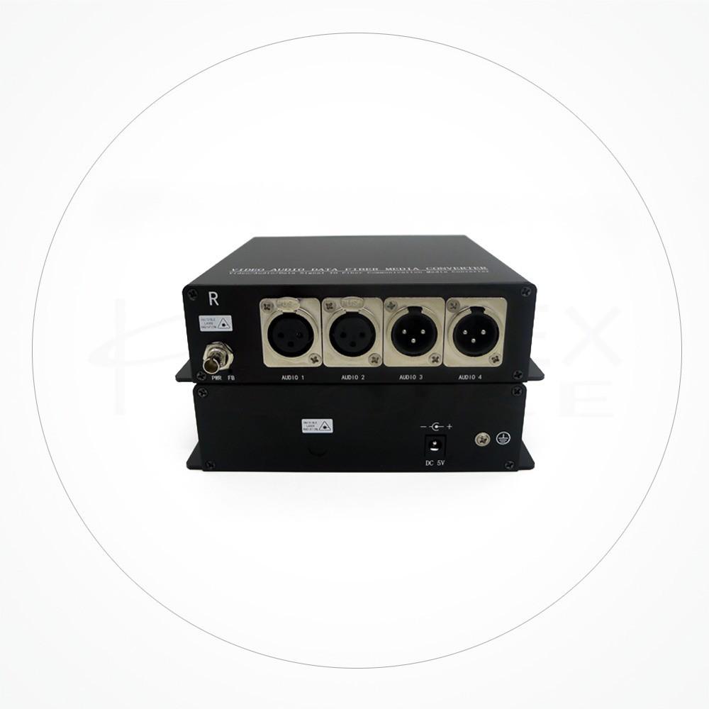 Conversor FC/SC/ST Audio Balanceado Bidireccional IX2CHB-XLR