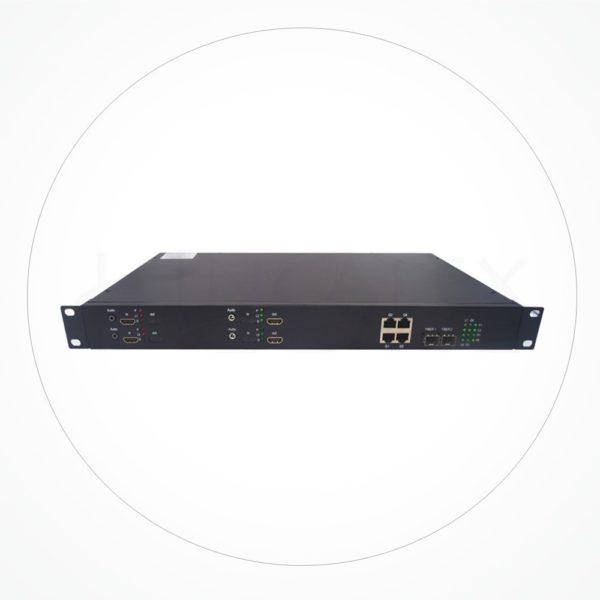 Conversor LC Duplex HDMI Bidireccional 1000 M IX2HDB4