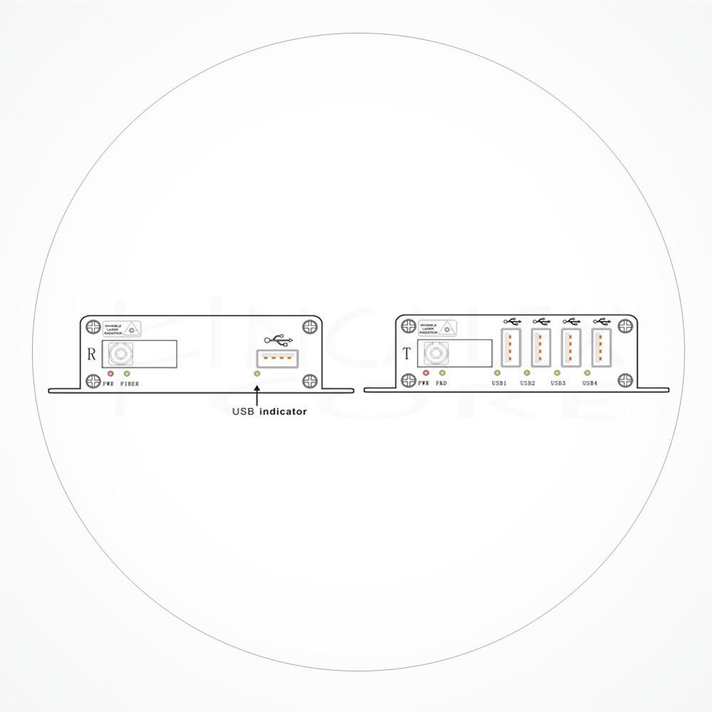 Conversor FC USB 2.0 IXUSB4-2.0