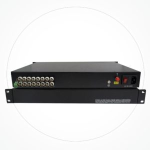 Conversor FC/SC/ST VIDEO 16 Canales IXHD-16V